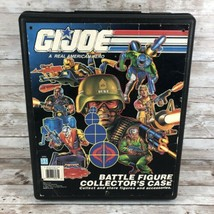 GI Joe Vintage 1991 Battle Figure Collector's Case Storage Box Used Hasbro - $24.70
