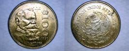 1990 Mexican 100 Peso World Coin - Mexico Carranza - $4.99