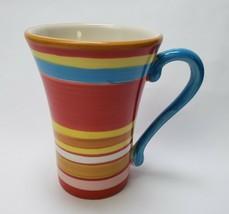 Gourmet by Fitz and Floyd Fiesta Coffee Mug Multi-Color - $24.70