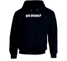 Got Drums Drummer Musician Hoodie image 1