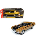 1971 Buick GSX Hardtop Cortez Gold Metallic with Black Stripes Muscle Ca... - $120.27