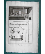 1763 DIDEROT (3) PRINTS - Leather Goods Maker View of Shop Hats Parasol ... - $30.60