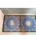Wedgwood Jasper Blue Compotiers State Seal Series Delaware Small Plates ... - $22.29