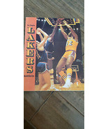 1974-75 WARRIORS @ LAKERS PROGRAM SIGNED BY 8 SMITH DUDLEY ATTLES SHARMA... - $59.99