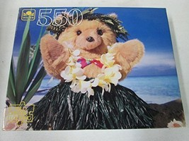 "Western Publishing Company Golden 550 Piece Puzzle ""Hula Bear"" - $29.39"
