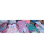 Lot of Baby Girl Clothes Newborn 3 / 6 / 9 / 12 / 18 months - $19.34