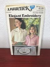 Butterick 5496 Elegant Embroidery Transfer Patterns Hand Stitch Motifs - $5.59