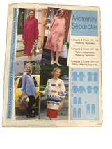 1995 Step-by-step Sewing Pattern Maternity Separates SZ 4-22 Pre-owned U... - $5.89
