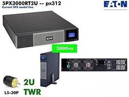 Eaton 5PX3000RT2U - Eaton 9210-8128-00P 5PX3000RT2U 3000VA 2700W Rt 2U 5PX 3000 - $1,508.88