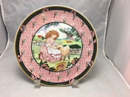 Villeroy Boch porcelain plate Once Upon A Rhyme- Mary Had a Little Lam ... - $11.83