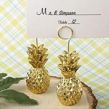 FavorOnline Warm Welcome Collection Gold Pineapple Themed Place Card Hol... - $52.86