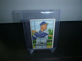 1951 Bowman Gum Baseball Card #95 Sherry Robertson Trading Card Good Con... - $8.90
