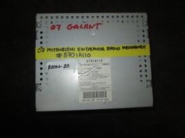 07 Mitsubishi Endeavour Radio #8701A110 - $29.70