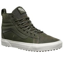 VANS SK8-HI ALL WEATHER MTE SKATE TRAINER SPORTS MEN SHOES GREEN OLIVE S... - £76.21 GBP