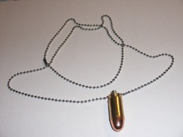 Bullet Necklace Neck Chain .45 ACP 45 Auto Full... - $7.91
