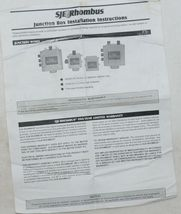 SJE Rhombus Junction Box 1008549 Connectors Included 1.5 HUB RCC8 image 8