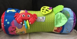 DISNEY BABY EINSTEIN RHYTHM OF THE REEF TUMMY TIME ROLL ACTIVITY PILLOW ... - $14.84