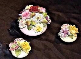 Royal Adderley Floral Boutique (England) AA18 - 1068 3 Piece Vintage image 1