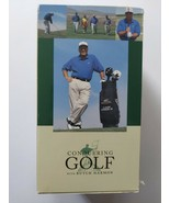 Vintage 1997 Conquering Golf with Ralph Harmon VHS 4-Tape Set - $5.93