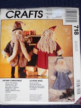 "Father Christmas Dolls and Clothes 22"" tall McC... - $7.91"