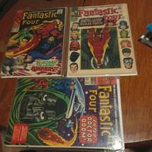 Fantastic Four Comic Book Lot #54,#57,#58,#63 - $68.60