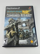 SOCOM: U.S. Navy Seals Combined Assault Sony PlayStation 2 PS2 # SCUS 97545 - $17.45