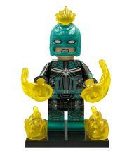 Captain Marvel (Starforce suit with Helmet) Marvel Avengers Lego Minifigures New - $2.99