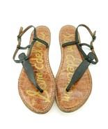 Sam Edelman Leather Gigi Sandals Black Sz 9 - $23.12