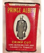 PRINCE ALBERT CRIMP CUT VINTAGE TOBACCO TIN, R.J. REYNOLDS TOBACCO COMPANY - $3.95
