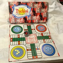 Vtg Whitmans Pachisi Game Of India Board Game MCM Exotic Graphics - $39.11