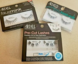 Ardell Eye Lashes Natural, Faux Mink, Pre-Cut, Studio Effects - $4.97+