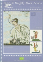 Naive and Naughty Elves Fairy Series Cross Stitch Pattern Leaflet LE 23P... - $6.99