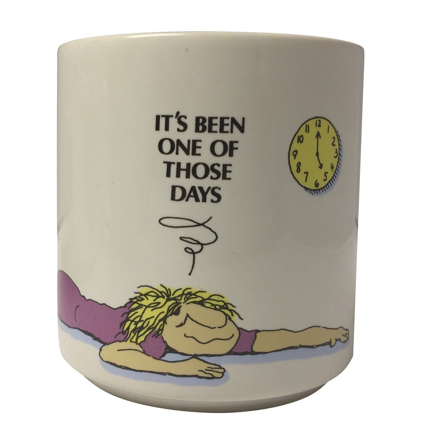 "Primary image for Russ Berrie Exhausted ""It's been one of those days"" Coffee Mug Cup"