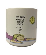 """Russ Berrie Exhausted """"It's been one of those days"""" Coffee Mug Cup - $28.99"""