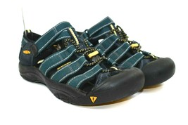 KEEN Newport H2 Kids Youth Black blue Sport Waterproof Sandals Size 3   - $24.70
