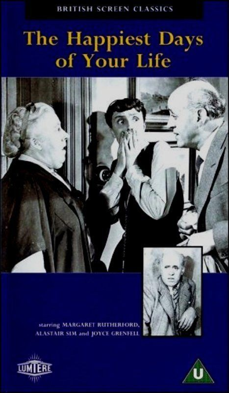 Primary image for VHS The Happiest Days of Your Life: Margaret Rutherford Alastair Sim J Grenfell