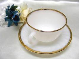 1832 Antique Anchor Hocking Golden Anniversary Cup N Saucer - $6.25