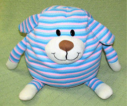 "MUSHABLE POT BELLIES TRIPED DOG 10"" PINK BLUE STUFFED ANIMAL PLUSH MICRO... - $14.85"