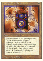 Magic: The Gathering 3rd Edition - Armageddon Clock - $0.25