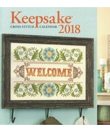 2018 Keepsake Cross Stitch Calendar from Craftways  - $22.00