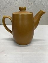 Vintage Denby England Brown Stoneware Teapot. Has Repair - $18.66