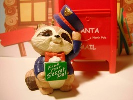 Hallmark Christmas Tree Ornament Special Delivery Raccoon Post Office Pr... - $6.92