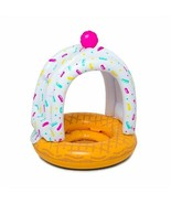 BIGMOUTH INC.Vinyl Inflatable Sweet Treat Sundae Lil' Canopy Float Pink  - $14.99