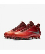Nike Vapor Untouchable 833385-608 Team Red Silver Pro Football Cleats Size 15 - $46.74