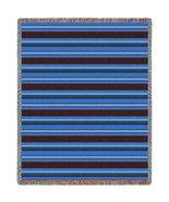 Marine Stripes Throw - 70 x 54 Blanket/Throw - $64.95