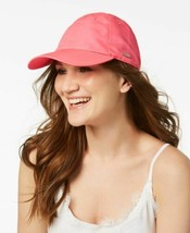 Steve Madden Classic Neon Baseball Cap (Neon Pink, One Size) - $25.52 CAD