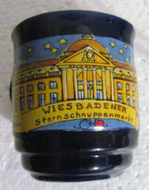 Cobalt Blue Wiesbadener Sternschnuppenmarkt Ceramic Coffee Mug -Mohaba-G... - $16.50