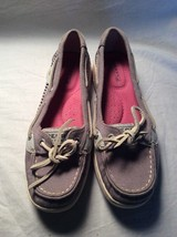 Sperry Brown Slip on Loafer Boat Deck Shoes size 5.5M - $29.69