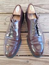 Cole Haan Size 10.5 B City Oxford Men Brown Leather Split Split Toe Dres... - $56.99