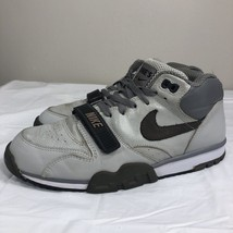2004 Nike Air Trainer 1 Book of Ones Sterling Fog Charcoal Grey Men's 9.5 Swoosh - $39.99